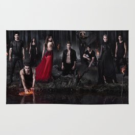The Vampire Diaries Cast Rug