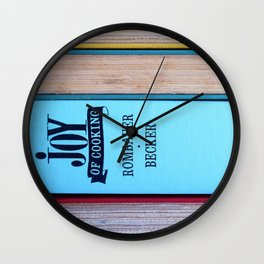 The Joy of Cooking Wall Clock