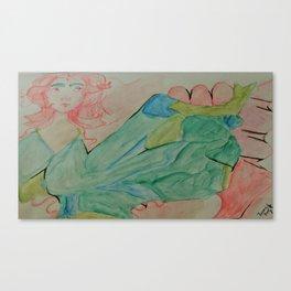 Shaped Ribbons Canvas Print