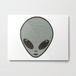 Nice Alien Bro Metal Print