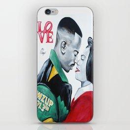 Black Love - Martin & Gina iPhone Skin