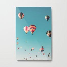 Hot Air Balloon Ride Metal Print