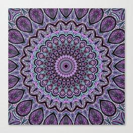 Blackberry Bliss - Mandala Art Canvas Print