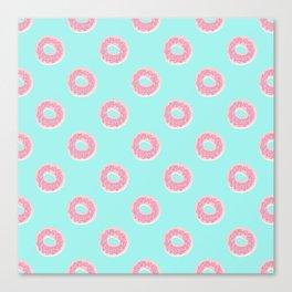 Donut Ocean Canvas Print