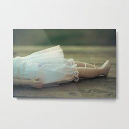 Alice's Escapades ~ Damsel in Distress Metal Print