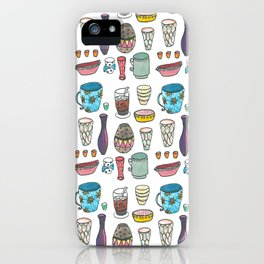 Cups and bottles iPhone Case