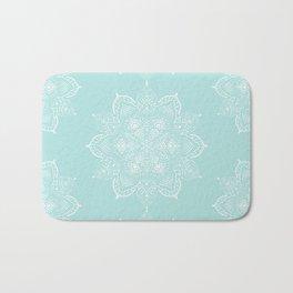 Winter Spirit Mint Bath Mat