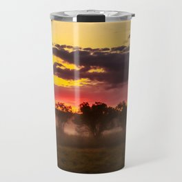Sunrise above Land of the Leopard Travel Mug