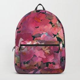 Red Rose Garden Backpack
