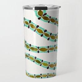 Turquoise Serpent Travel Mug