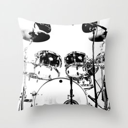 Clean Set Throw Pillow