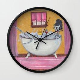 Senorita Sangria Wall Clock