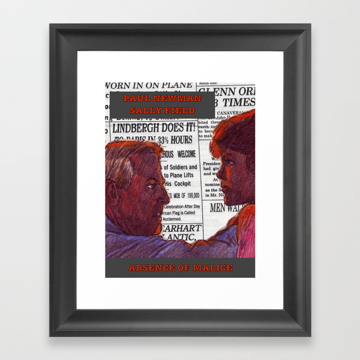 Absence Of Malice Framed Art Print by Adrockhoward FRM8528170