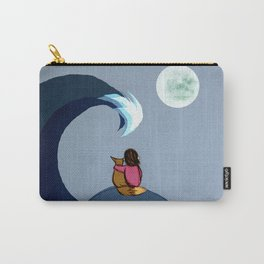 The Moon and Sea Carry-All Pouch