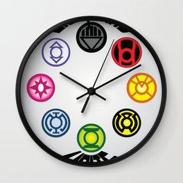 Lanterns Unite Wall Clock