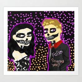 SkullRoyalty Art Print