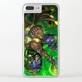 over lucio watch Clear iPhone Case