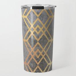 Glam Geometric Travel Mug