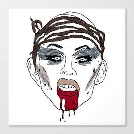 Apocalyptic Sharon Canvas Print