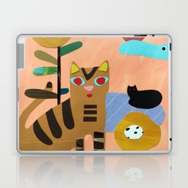 Cats on the Lawn Laptop & iPad Skin