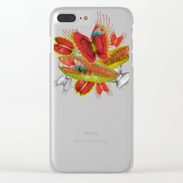 Beautiful And Deadly Clear iPhone Case