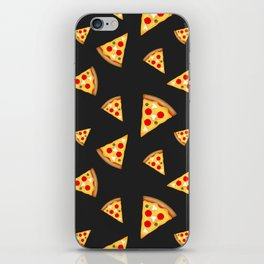 Cool and fun pizza slices pattern iPhone Skin