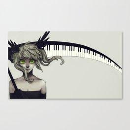 Final Performance Canvas Print