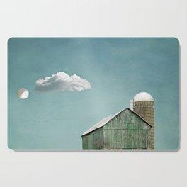 Green Barn and a Cloud Cutting Board