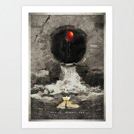 Stephen King's IT Art Print