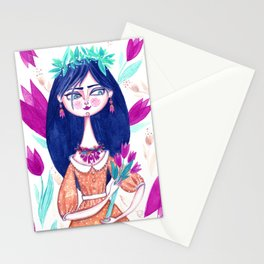 Miss Tulip Stationery Cards