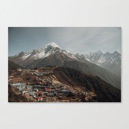 Namche Canvas Print