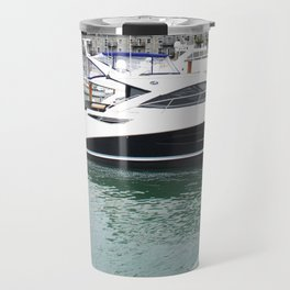 Port Hole View of Boston Travel Mug
