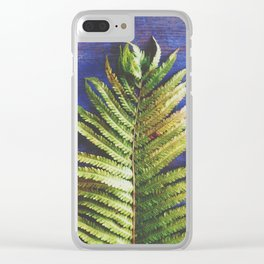 Fern Clear iPhone Case