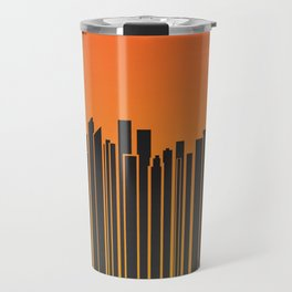 Sydney City Barcode Travel Mug