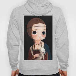 The Lady with Ermine Hoody