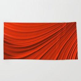 Renaissance Red Beach Towel