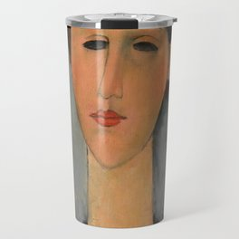 "Amedeo Modigliani ""Portrait of Mme Zborowska"" Travel Mug"