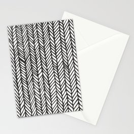 Black Threads Stationery Cards