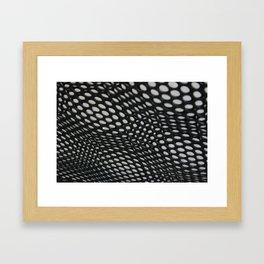 perforation 2 Framed Art Print