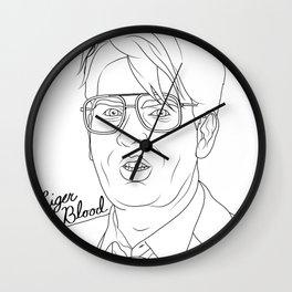 Liger Blood Wall Clock