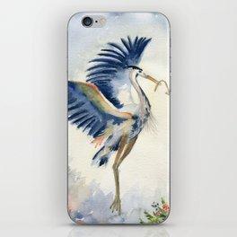 Great Blue Heron Couple iPhone Skin