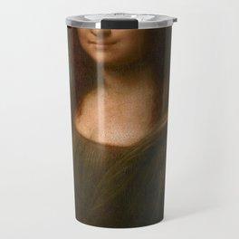 Mona Lisa Classic Leonardo Da Vinci Painting Travel Mug
