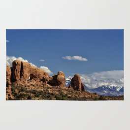 Between Two Worlds - Arches National Park Rug