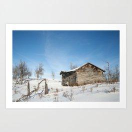 Noon Sun Farm 12 Art Print