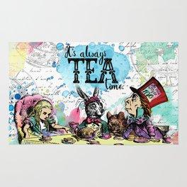 Alice in Wonderland - Tea Time Rug