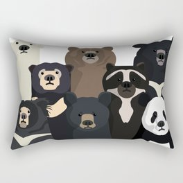 Bears of the world Rectangular Pillow