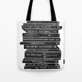 Mono book stack 1 Tote Bag