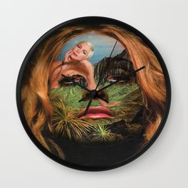Mama SeeThru Wall Clock