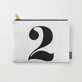 number 2 Carry-All Pouch