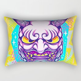 Neon Noh - Daikijin Rectangular Pillow